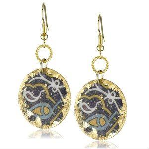 """Évocateur """"The Ancients"""" Phoenicia Earrings"""